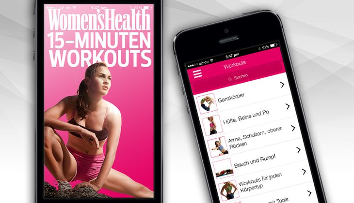 15 Minuten-Workouts als App