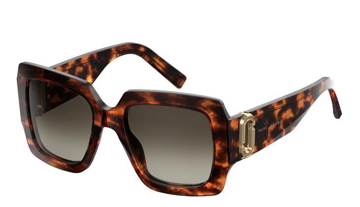 Animalprint Sonnenbrille von Marc Jacobs