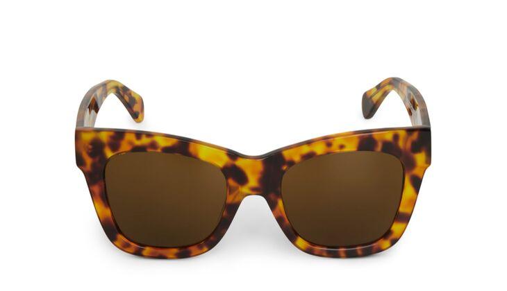 Animalprint Sonnenbrille von Weekday