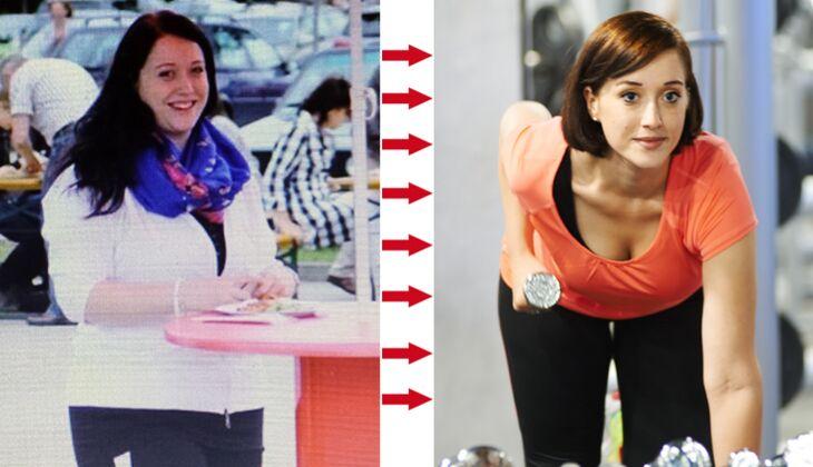 Anne hat 40 Kilo abgenommen