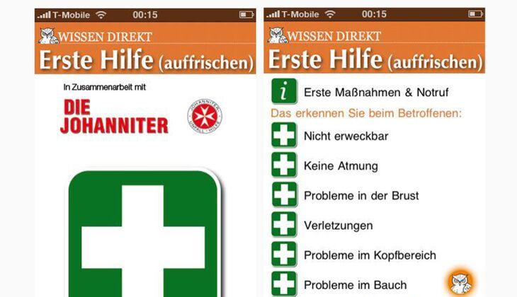 App: Erste Hilfe (auffrischen)