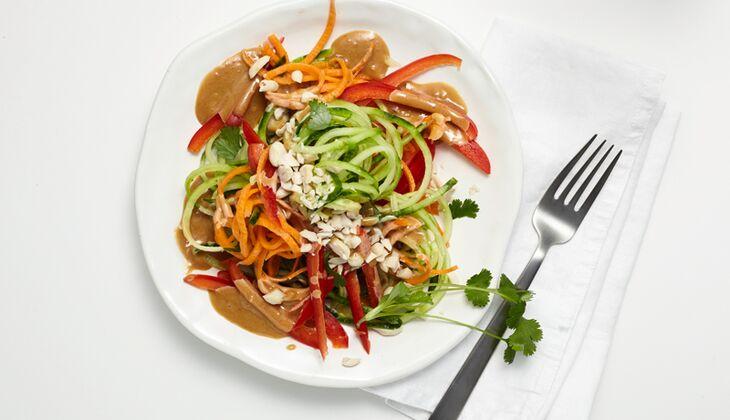 Asiatischer Gemüsenudel-Salat
