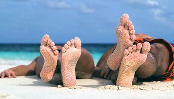 Auch am schönsten Strand können Gefahren lauern