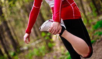 Auch beim Wald-Workout ist Dehnen wichtig