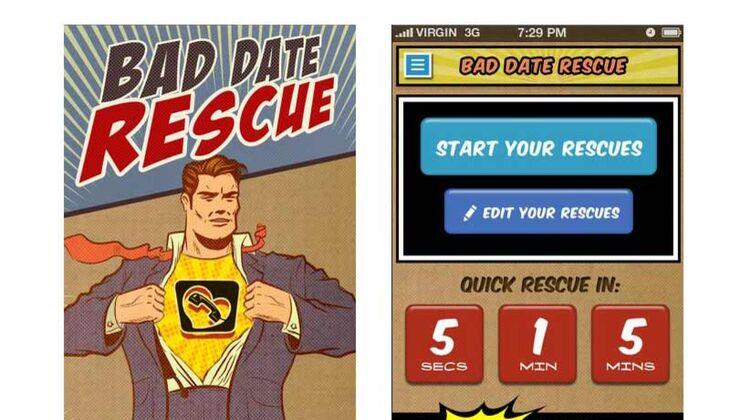 Bad Date Rescue App