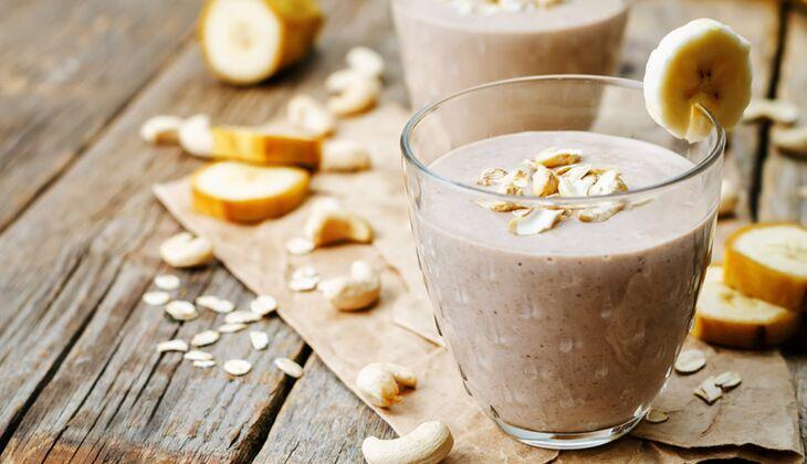 Bananen-Maca-Proteinshake