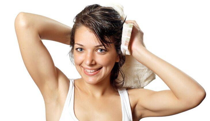 Beauty-Sünde: Haare trocken rubbeln