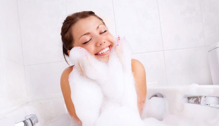 Beauty-Sünde: Zu heiß baden
