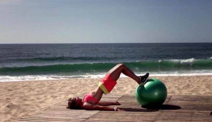 Bikini-Workout: Oberschenkel-Curl