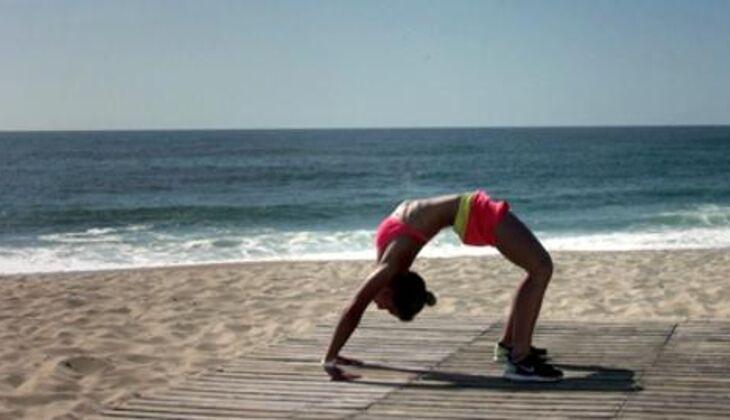 Bikini-Workout: Yoga-Rad