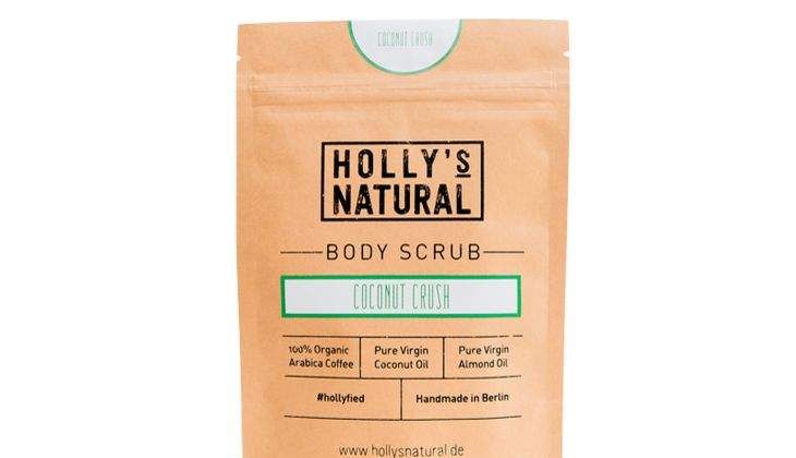 Body Scrub Coconut Crush von Holly's Natural