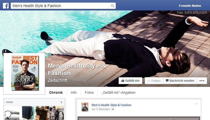 Daumen hoch für Fashion-Fanpage