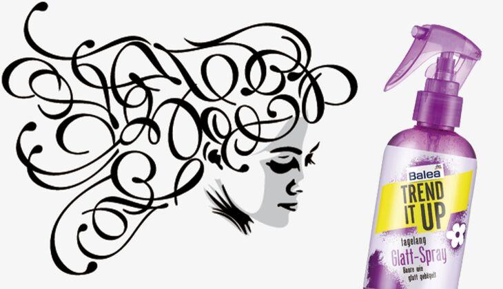 Die besten Haarpflegeprodukte: Balea Glatt-Spray