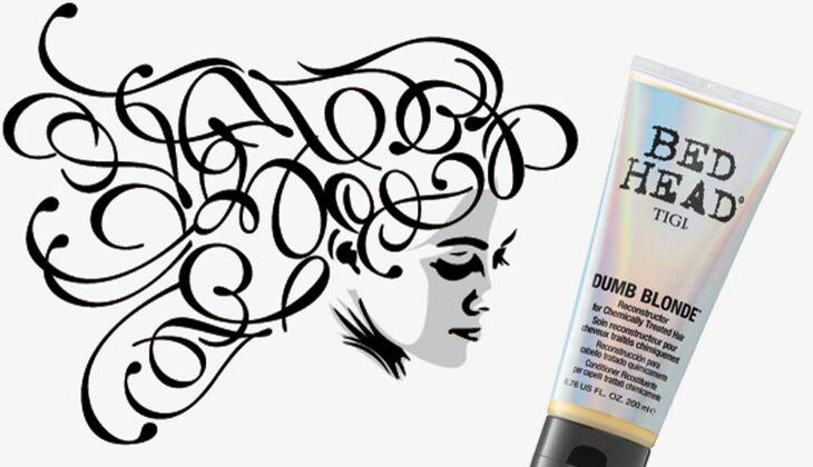 Die besten Haarpflegeprodukte: Dumb Blonde Reconstructor von Bed Head by Tigi