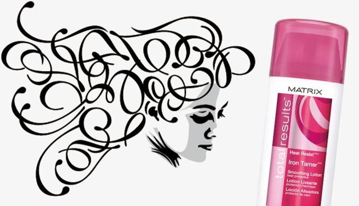 Die besten Haarpflegeprodukte: Heat Resist Iron Tamer von Matrix