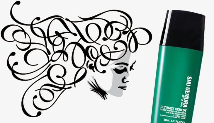 Die besten Haarpflegeprodukte: Ultimate Remedy Extreme Restoration Duo Serum von Shu Uemura