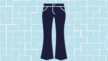 Die wichtigsten Hosenformen im Überblick: Die Schlaghose