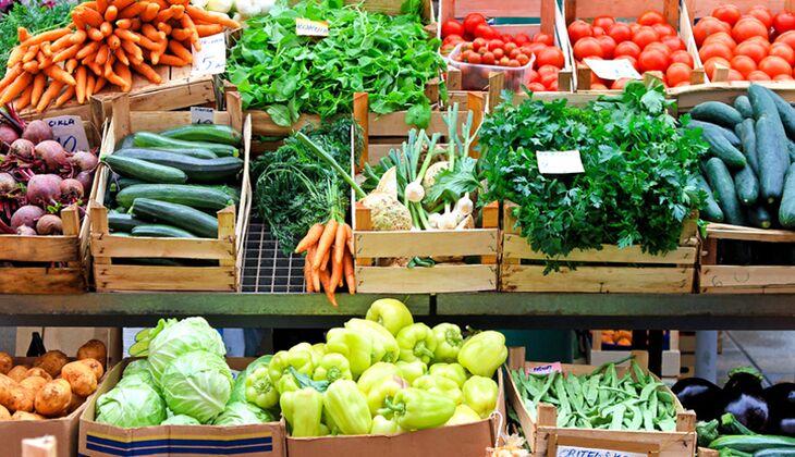 Durch genügend frischem Obst und Gemüse bekommen Veganer (fast) alle Nährstoffe
