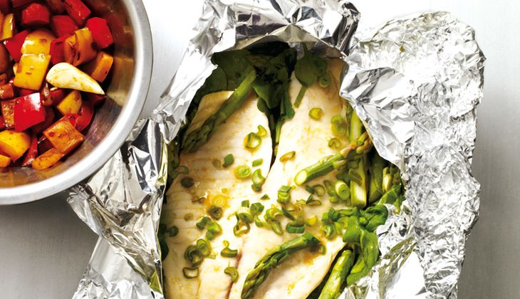 Feuriges Fischfilet aus dem Ofen