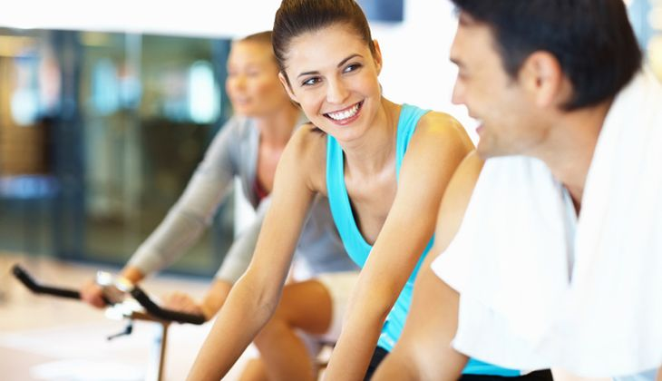 Flirten im Fitnessstudio?