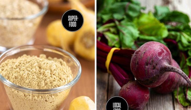 Food-Duell: Superfood vs. Local Foods