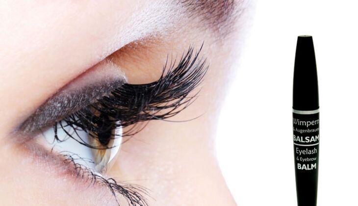 Für lange Wimpern: Wimpernwelle Wimpern- und Augenbrauen Balsam