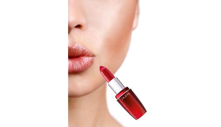Für volle Lippen: Pupa Milano Volume Lipstick, Farbe 401
