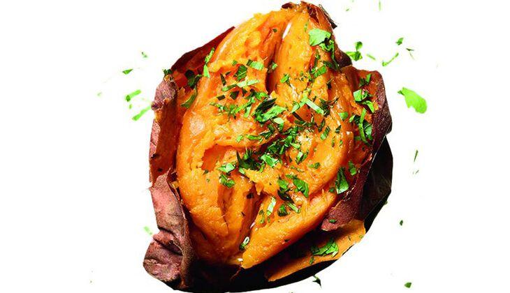 Gebackene Süßkartoffel