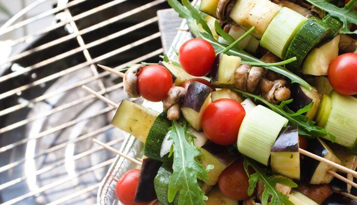 Gemüse vom Grill ist lecker und gesund