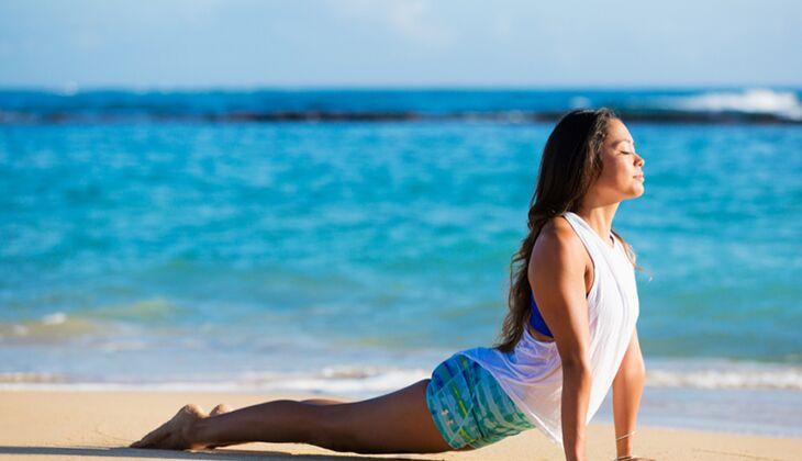 Gesund durch Yoga: Bei einigen Übungen ist Vorsicht geboten