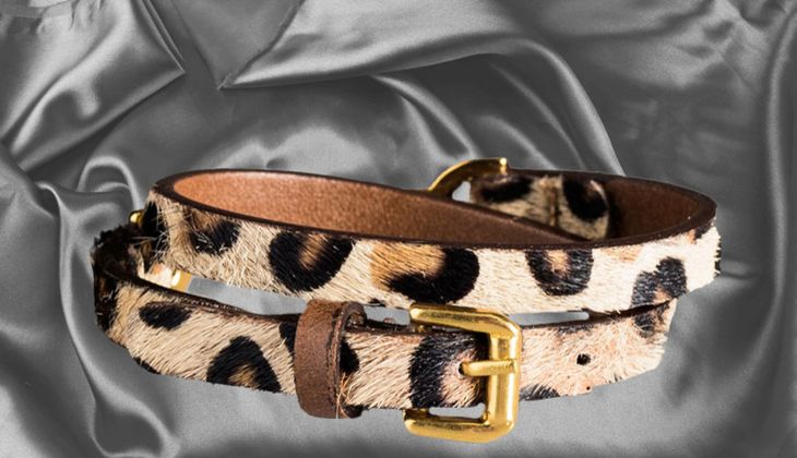 Gewickeltes Leo-Armband von Massimo Dutti, zirka 40 Euro