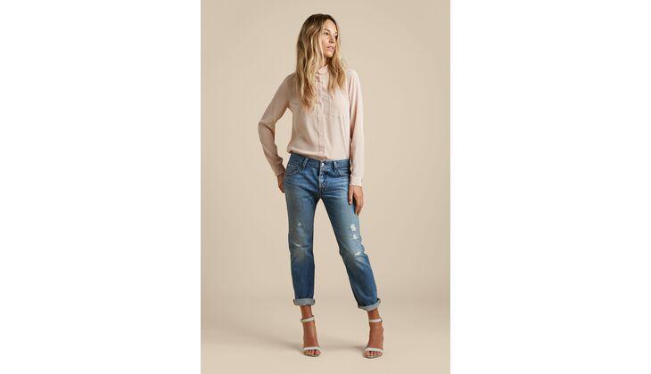 Girlfriend Jeans von Levis