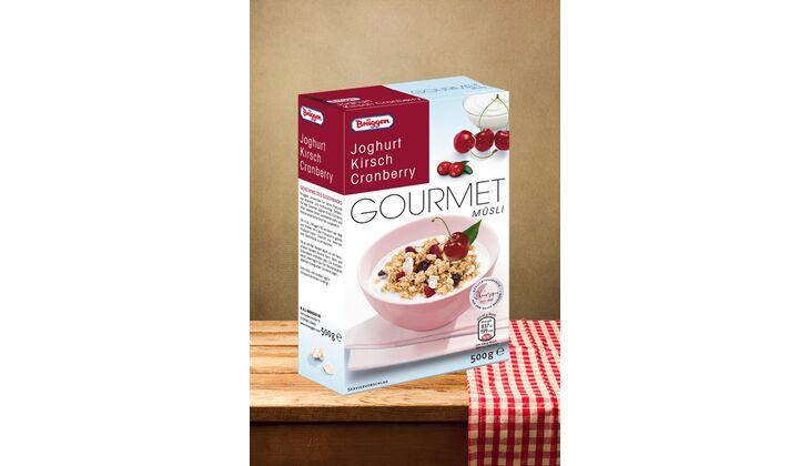 "Gourmet Müsli ""Joghurt Kirsch Cranberry"" von Brüggen"