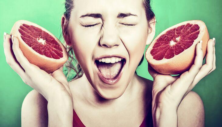 Grapefruit für ein langes Leben