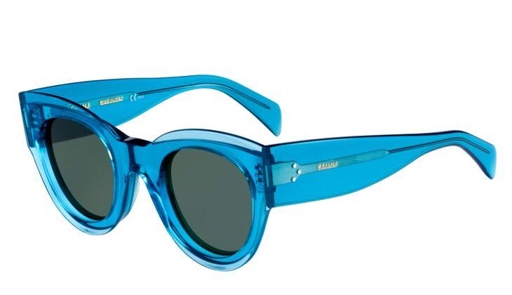 Hellblaue Sonnenbrille von Celine