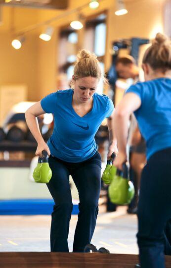 Jessicas Alternative zum Hanteltraining: Ein Workout mit Kettlebells