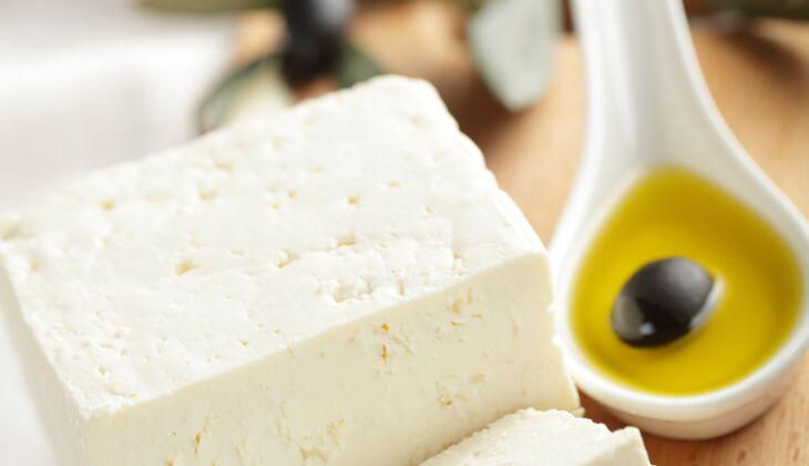 Käse im Kalorienvergleich: Feta
