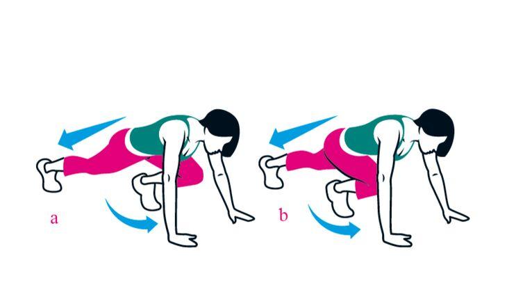 Kampf gegen das Körpergewicht: Bergsteigerin
