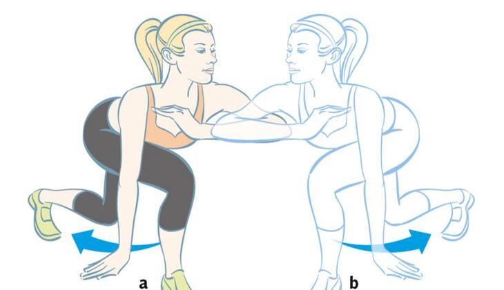 Kardiotraining: Capoeira-Ausfallschritt