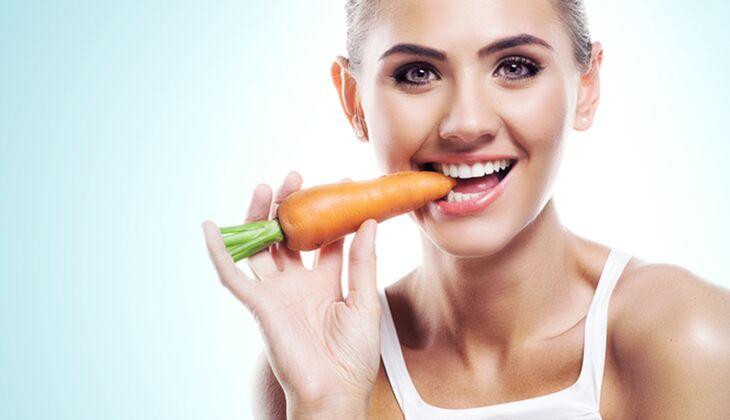 Karotten halten jung