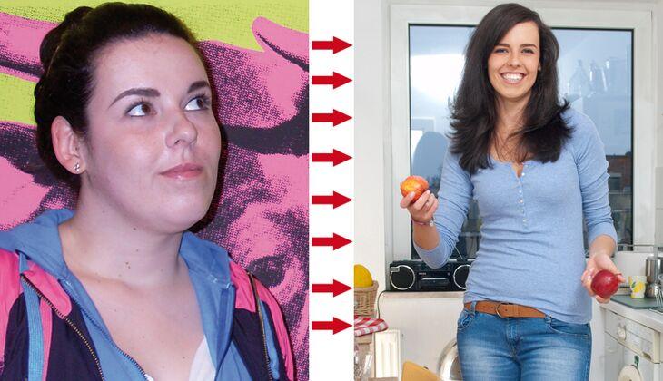Katharina nahm in zwei Jahren 41 Kilo ab