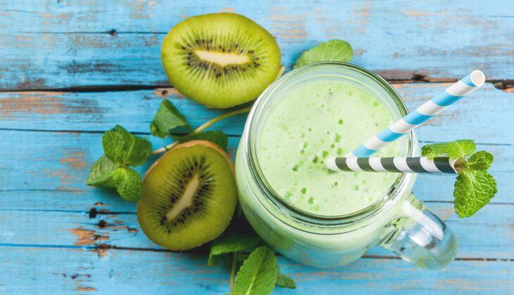 Kiwi-Proteinshake