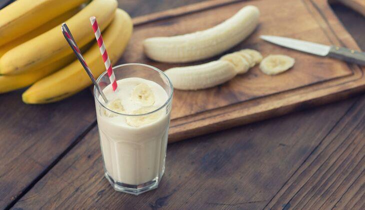 Kokosmilch-Bananen-Smoothie