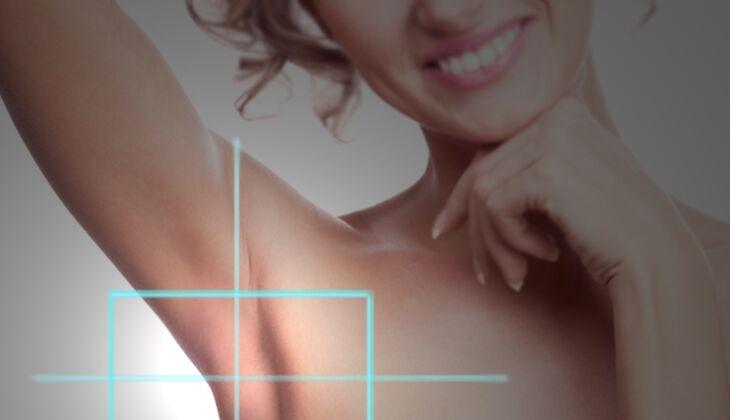 Kosmetische Laserbehandlungen: Schweißdrüsenentfernung