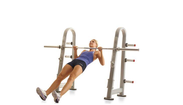 Kraft im Oberkörper: Rudern mittel