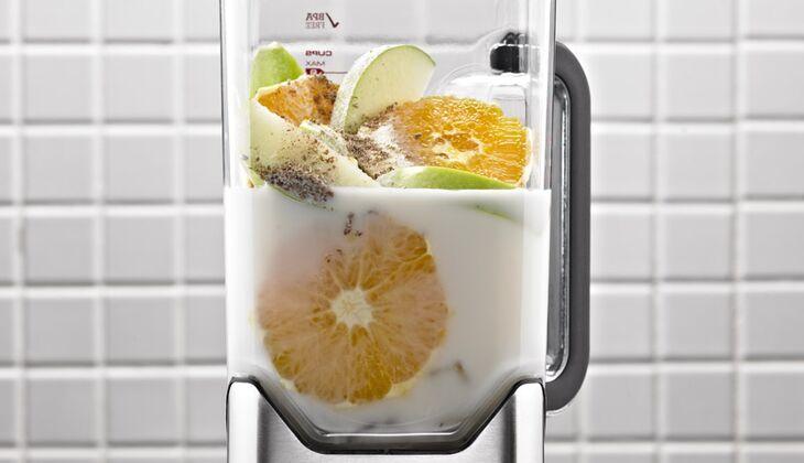 Leinsamen-Reismilch-Shake