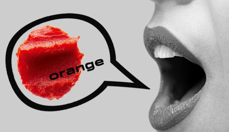 Lippenstift Orange