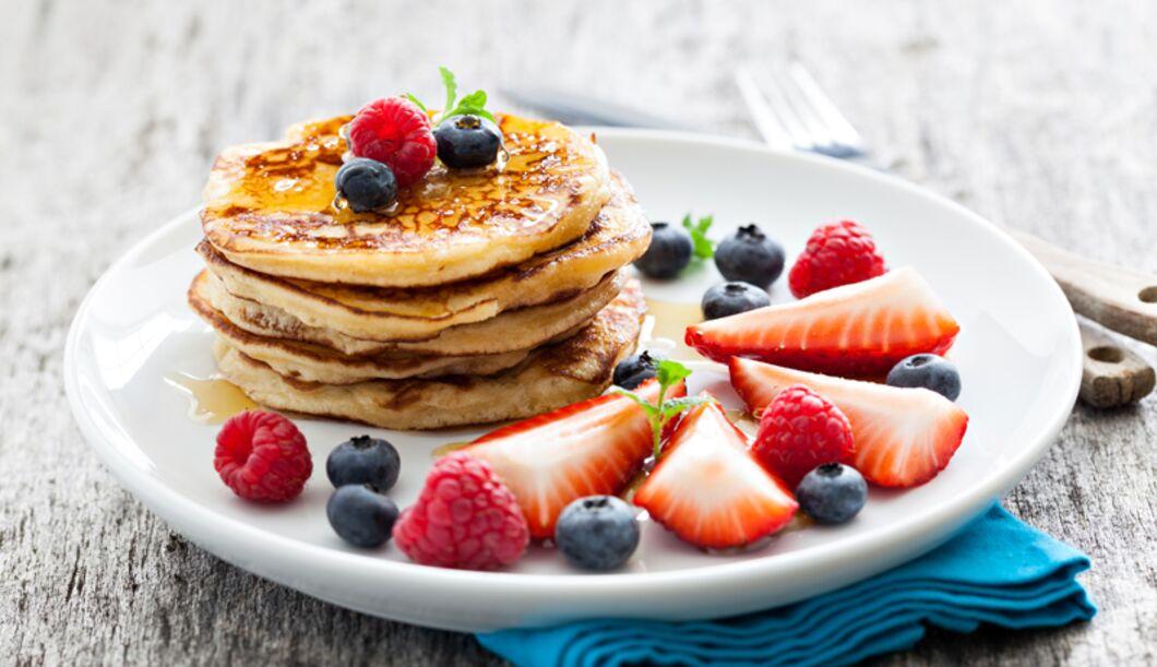 Low Carb-Pancakes schmecken einfach immer! Egal, ob zum Frühstück, Dessert oder zwischendurch