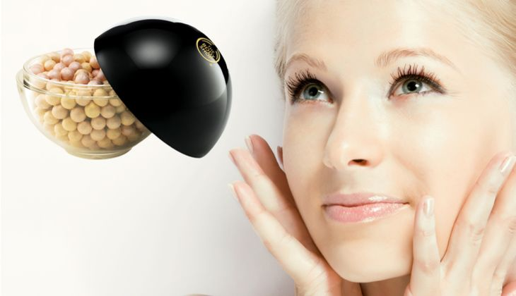 Make-up Trends 2014 The Body Shop Shimmer Perlen