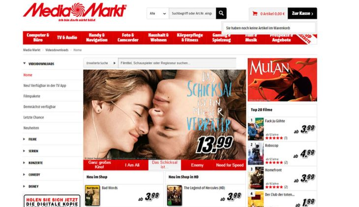 Mediamarkt Downloadshop